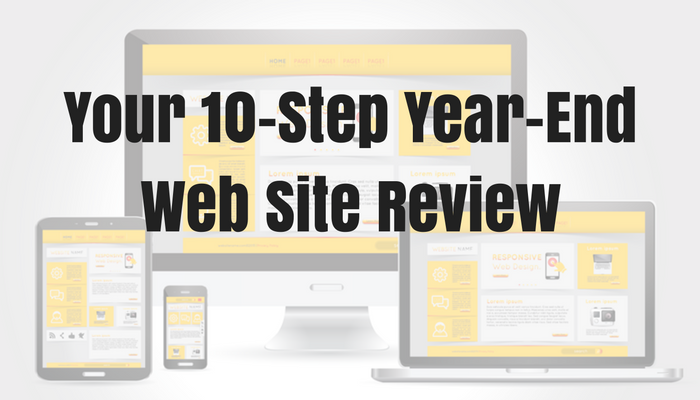 Your 10-Step Year-End Web Site Review