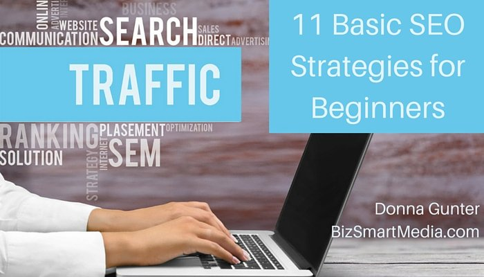 Search Engine Optimization: 11 Basic SEO Strategies for Beginners
